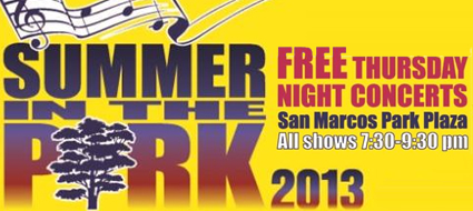 Summer in the Park Music Series : San Marcos, TX